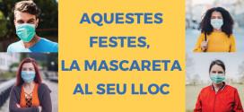 Les farmàcies catalanes posen en marxa una campanya per promoure el bon ús de les mascaretes entre la població