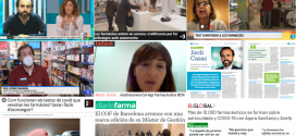 Novembre: els tests COVID-19 a les farmàcies, el paper dels farmacèutics durant la pandèmia i la inauguració del MGOF, temes més destacats als mitjans