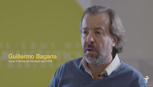 Guillermo Bagaría, vocal d'Oficina de Farmàcia del COFB.