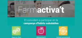 Torna Farmactiva't, la campanya del COFB per promoure hàbits saludables entre els col·legiats