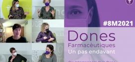 """""""Dones Farmacèutiques. Un pas endavant"""". Cinc visions actuals de l'exercici de la professió"""