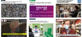 Abril: Els tests COVID-19 a les farmàcies i Infarma Virtual 2021, temes més destacats als mitjans