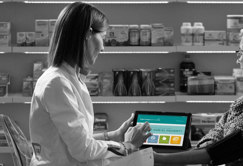 Els pacients podran consultar les seves dades de salut -prèviament registrades pel farmacèutic a la plataforma Farmaserveis– a través de FarmaserveisApp.