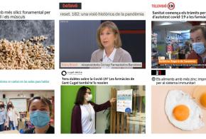 """Maig: La campanya """"La pell, mira-te-la amb bons ulls"""", Infarma Virtual 2021 i els tests d'antígens a les farmàcies, temes més destacats als mitjans"""