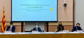 Salut i Drets Socials posen en marxa el cribratge als professionals i participants del lleure educatiu infanto-juvenil d'estiu a les farmàcies