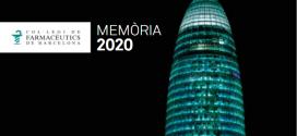 Publicada la Memòria 2020 del COFB. Repàs de l'activitat d'un any marcat per la COVID-19